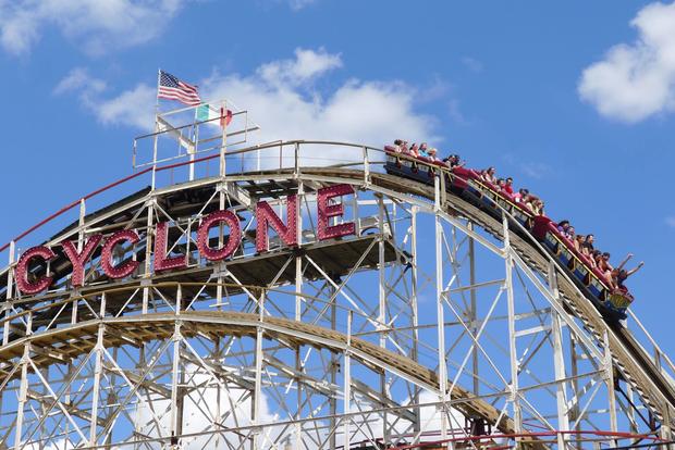 Fun times at Coney Island