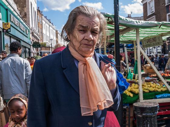 Woman with Orange Scarf, Portobello