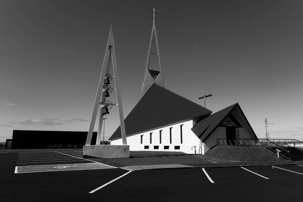 Church of sharp lines