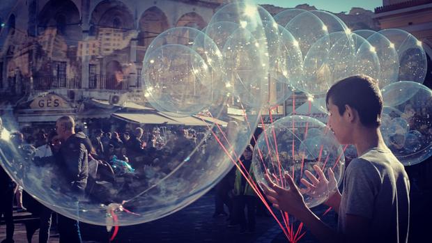 Bubble word