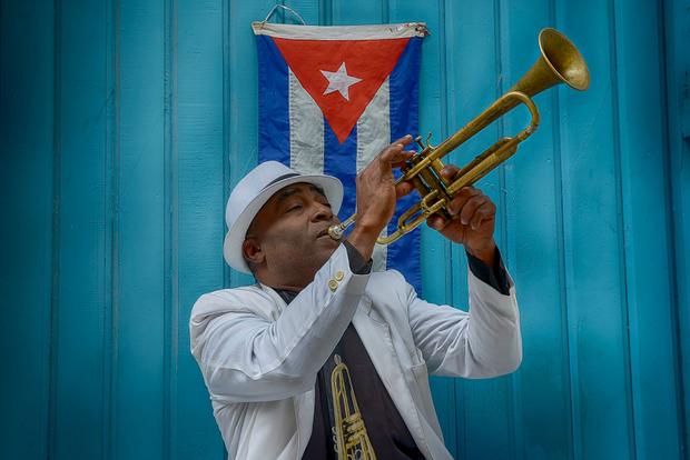 Cuban Trumpet Player