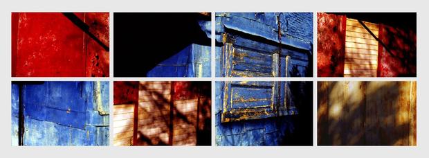 N°18 - Morceaux choisis - Bleu-Rouge - 2004
