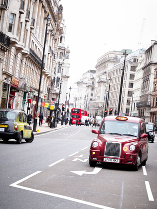 Street view, London