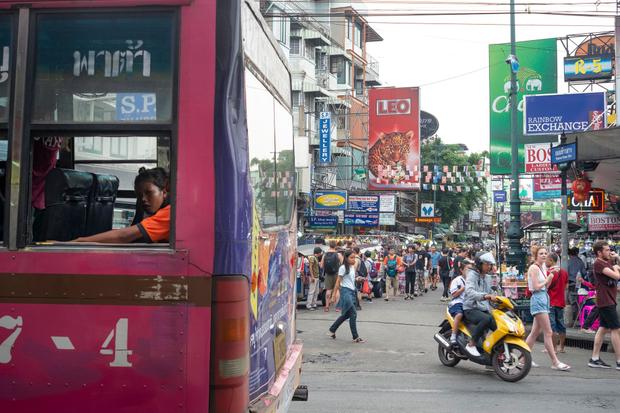 Khao San Road, Bangkok, Thailand 2019
