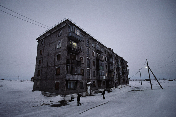 Last inhabited building in Yur-ShorThe Vorkuta Ring comprised 13 settlements, each with its own mineFacebookTwitterPinterest
