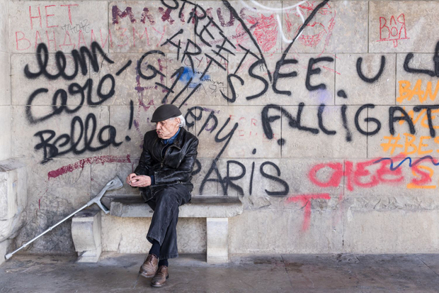 The Old Man and the Graffiti