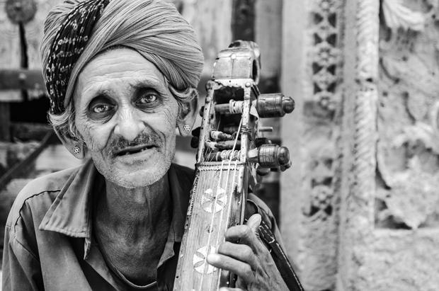 Sarangi Man from Jaisalmer
