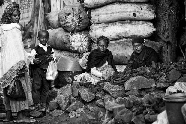 Charcoal sellers