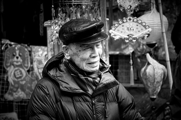 Hanoi - Old Man