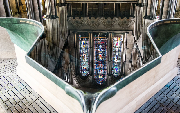 Salisbury Cathedral Infinity Font