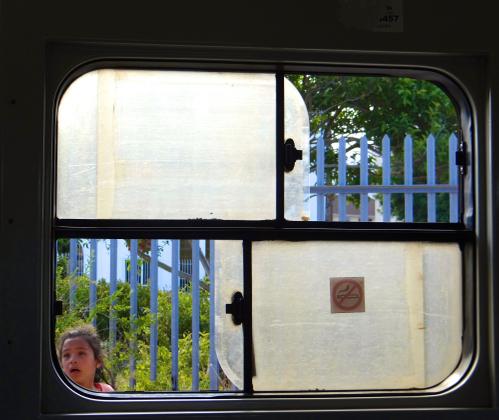 Train Window Cape Town