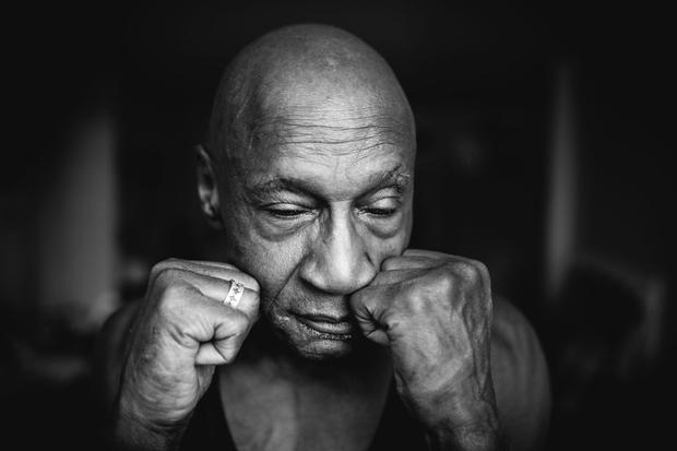 Jo-Jo Jackson the boxer shadowboxing
