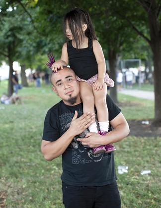 Punk Rock Dad & Daughter.