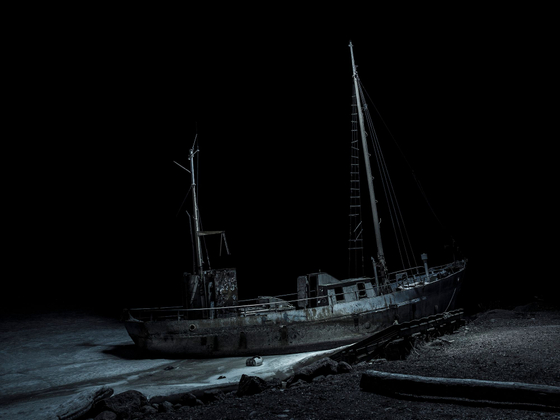 """""""The Ship Called Night"""" , 2014"""