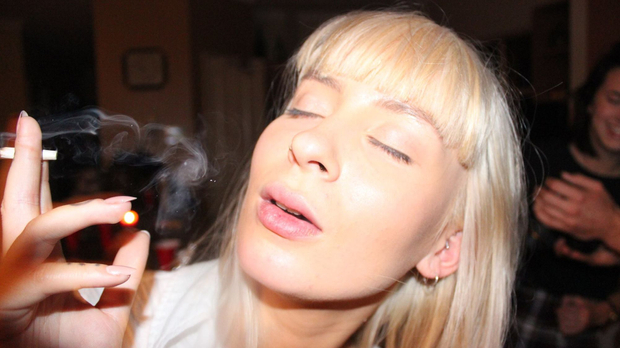 Kayla Smoking