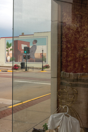 Mural of Scott Joplin, Sedalia, Missouri