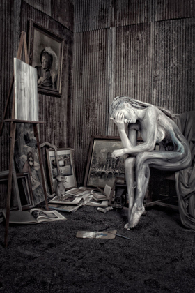 Art is an expression of the tortured  soul
