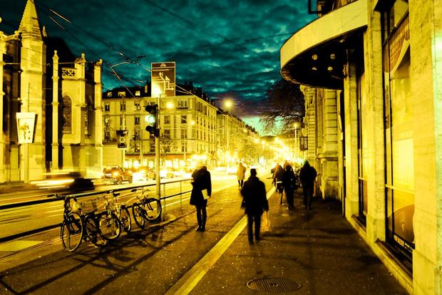 Street, Night and Light