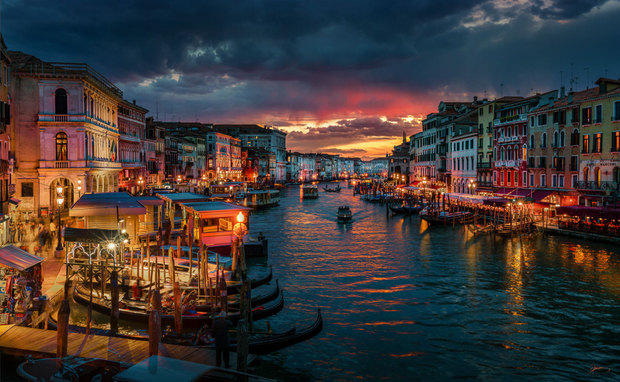 Canale Grande Sunset