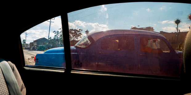Country Drive.  Varadero. Cuba.