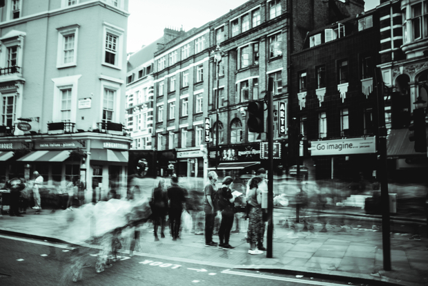 London street shot