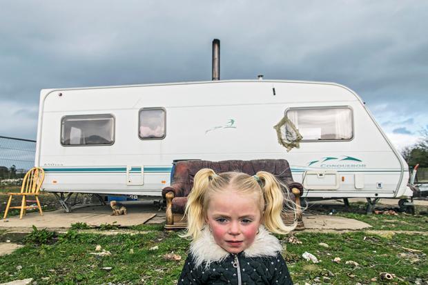 Charlotte, Irish Traveller, Tipperary, Ireland 2019