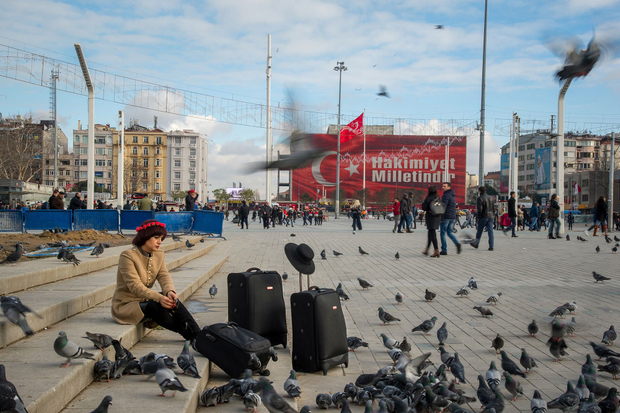 Taksim square was the first place I visited in Istanbul. After reading a bit I learned that many people have died in this square because of bombings, revolutions or demonstrations