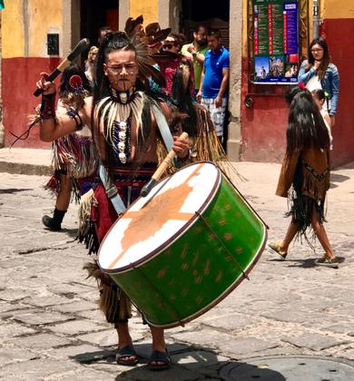 Indigenous Parade - San Miguel De Allende, Mexico