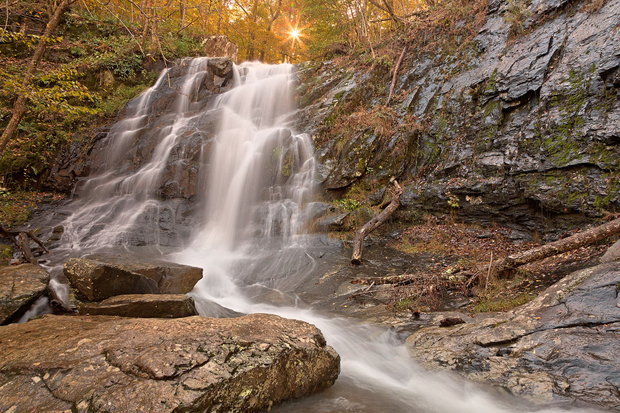 Jones Sun Waterfall