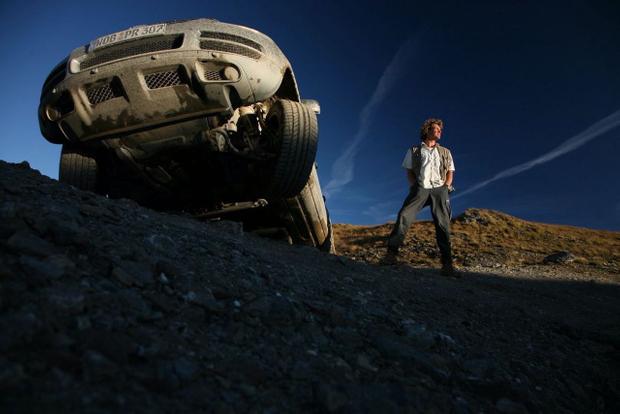 Val d`Isère, shooting the new VW/Tuareg