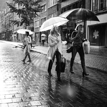 Sometimes it rains in Belgium