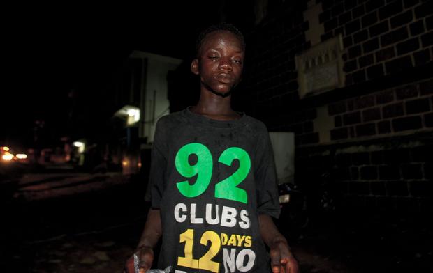 Freetown. Street Children.