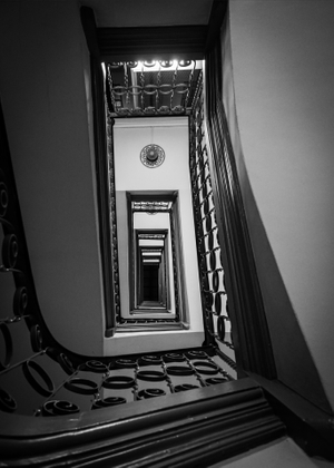 Infinite Stairwell - Barcelona, Spain