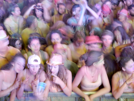 Holi. Festival dei colori. Milano