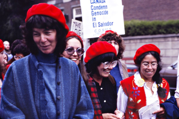 America out of El Salvador Protest, Toronto, 1981
