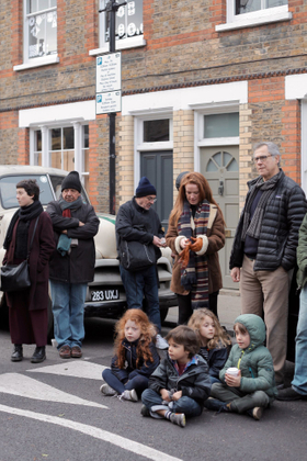 The Busker's Crowd