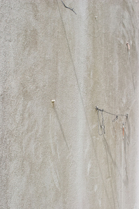 Abstract white wall