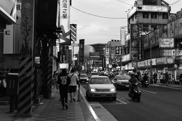 Walk on the street