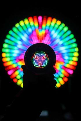 Glassy Neon Lights