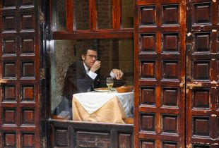 Memories of Spain 3 - Lonely Man Dinner in Madrid's Latin Quarter