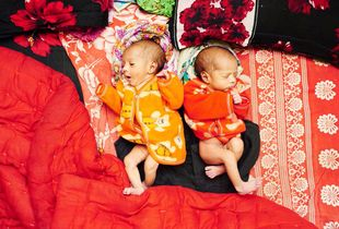 Moni & Mukta are twin baby girl born in the brothel. Their mother is a sex worker who is just 17 years old ( Jhinuk). Girls who born in the brothel also becomes a sex worker by destiny