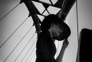 Humber Bay Arch Bridge  Fashion Photography Project
