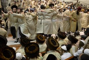 Purim Holiday In Jerusalem