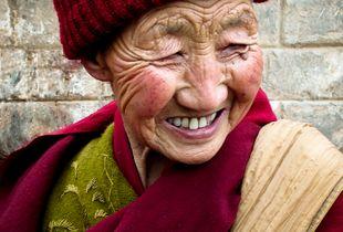 Aristocratic Tibetan Woman