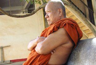 Contemplating Monk