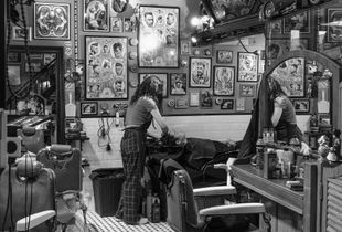 No barriers as a female barber