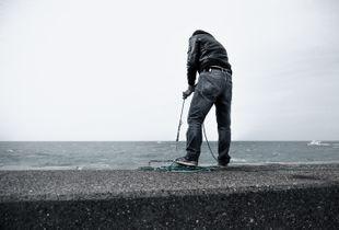Fisherman in Dieppe