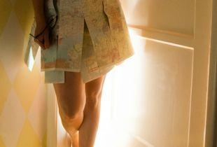Map Dress #1