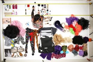Behind the scenes of Vivienne's day, drag queen, Tokyo