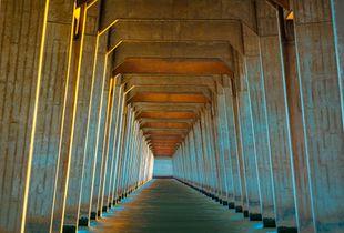 "Bridge of Dreams #1a, (Sun ""Painted"")"
